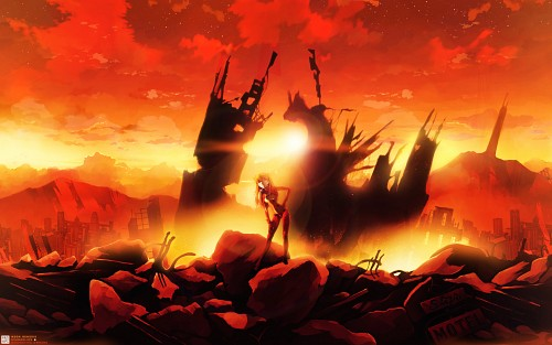 Gainax, Neon Genesis Evangelion, Asuka Langley Soryu, Contest Entry, Minitokyo Wallpaper