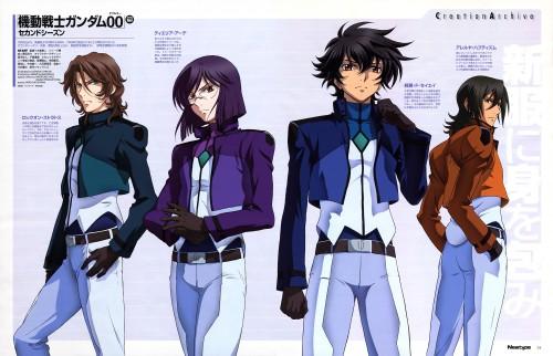 Sunrise (Studio), Mobile Suit Gundam 00, Tieria Erde, Setsuna F. Seiei, Lockon Stratos