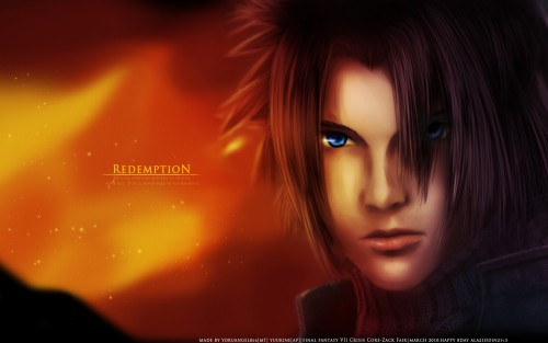 Square Enix, Final Fantasy VII, Final Fantasy VII: Crisis Core, Zack Fair Wallpaper
