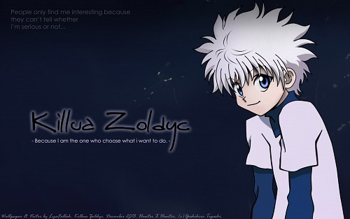 Yoshihiro Togashi, Hunter x Hunter, Killua Zaoldyeck Wallpaper