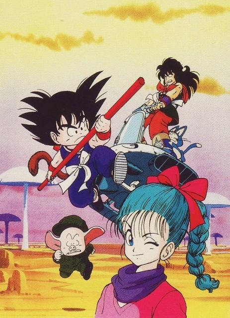 Akira Toriyama, Toei Animation, Dragon Ball, Kid Goku, Bulma