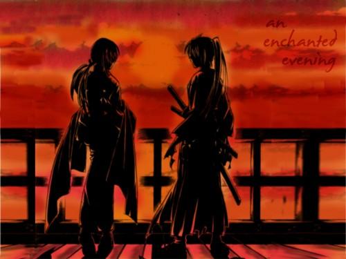 Nobuhiro Watsuki, Rurouni Kenshin, Kenshin Himura, Tomoe Yukishiro Wallpaper