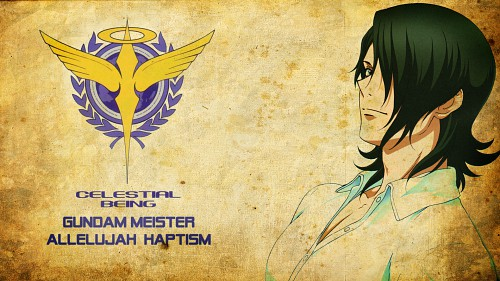Sunrise (Studio), Mobile Suit Gundam 00, Allelujah Haptism Wallpaper
