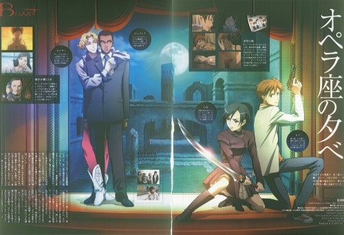 Production I.G, Blood+, James Ironside, Kai Miyagusuku, Saya Otonashi