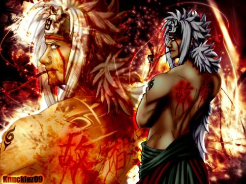 Masashi Kishimoto, Studio Pierrot, Naruto, Jiraiya  Wallpaper