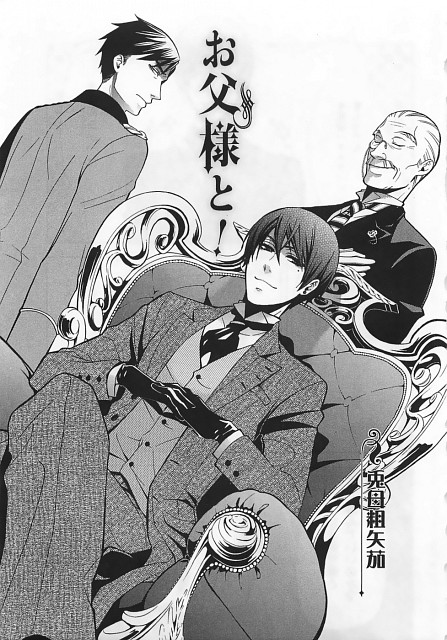 Yana Toboso, Kuroshitsuji, Nijishitsuji Rainbow Butler 2 - Comic Anthology, Deiderich, Tanaka