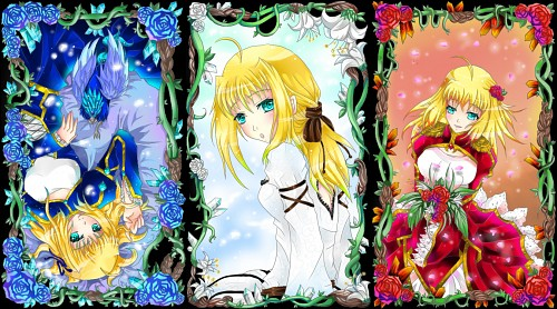 TYPE-MOON, Fate/EXTRA, Fate/stay night, Nero Claudius Caesar Augustus Germanicus, Saber Lily