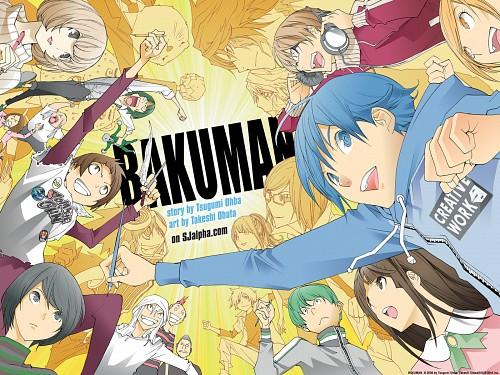 Takeshi Obata, Bakuman, Shinta Fukuda, Eiji Niizuma, Moritaka Mashiro