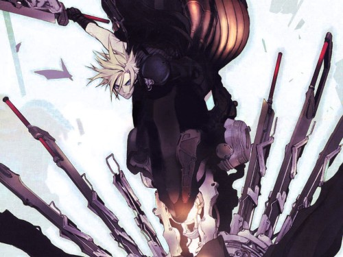 Miwa Shirow, Final Fantasy VII: Advent Children, Cloud Strife Wallpaper