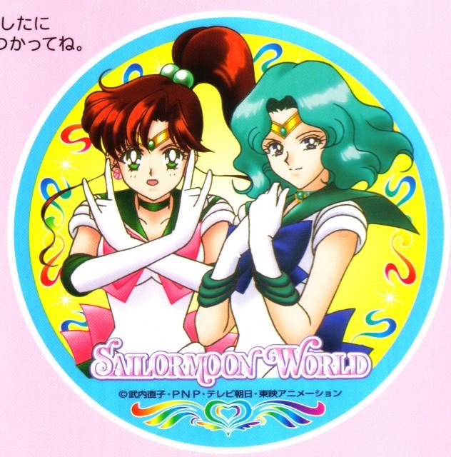 Toei Animation, Bishoujo Senshi Sailor Moon, Sailor Neptune, Sailor Jupiter, Coloring Book