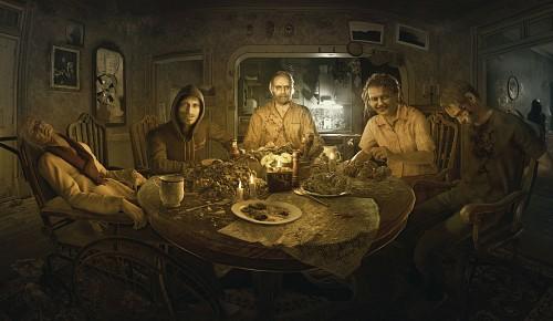 Capcom, Resident Evil 7, Jack Baker, Andre Strickland, Eveline
