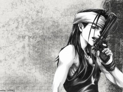 Kazuya Minekura, Studio Pierrot, Saiyuki, Sha Gojyo Wallpaper