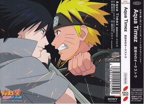 Studio Pierrot, Naruto, Naruto Uzumaki, Sasuke Uchiha, Album Cover