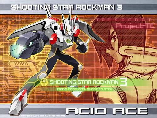 Keiji Inafune, Capcom, MegaMan, Acid Ace, Official Wallpaper