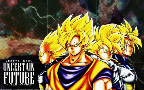 Akira Toriyama, Toei Animation, Dragon Ball, Super Saiyan Trunks, Super Saiyan Vegeta Wallpaper