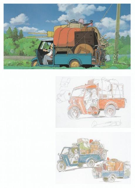 Hayao Miyazaki, Studio Ghibli, My Neighbor Totoro, The Art of My Neighbor Totoro, Tatsuo Kusakabe