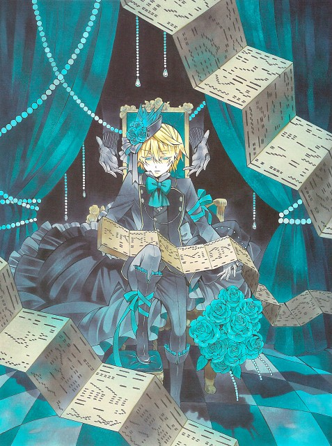 Jun Mochizuki, Xebec, Pandora Hearts, Pandora Hearts ~there is~, Oz Vessalius