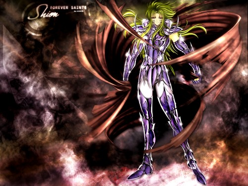 Haruhiko Mikimoto, Saint Seiya, Saint Seiya: The Lost Canvas, Aries Shion Wallpaper