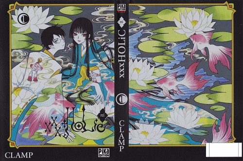 CLAMP, xxxHOLiC, Yuuko Ichihara, Kimihiro Watanuki, Manga Cover