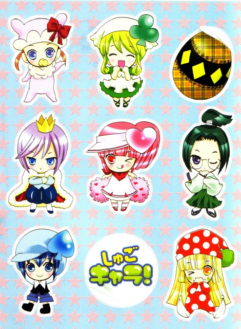Peach-Pit, Satelight, Shugo Chara, Shugo Chara! Illustrations, Dia