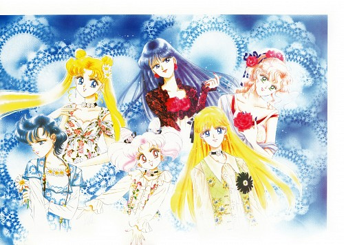 Naoko Takeuchi, Bishoujo Senshi Sailor Moon, BSSM Original Picture Collection Vol. IV, Usagi Tsukino, Makoto Kino