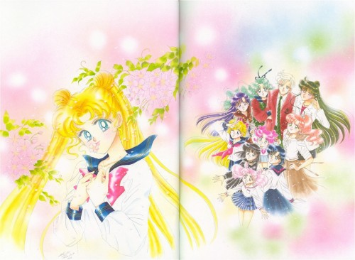 Naoko Takeuchi, Bishoujo Senshi Sailor Moon, BSSM Original Picture Collection Vol. V, Makoto Kino, Michiru Kaioh