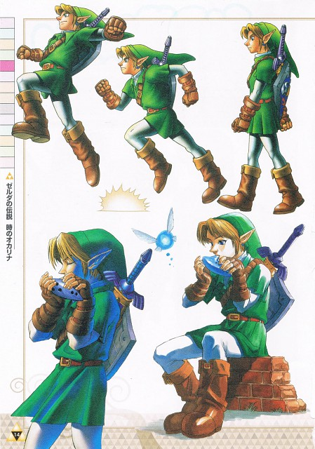 Nintendo, The Legend of Zelda: Ocarina of Time, The Legend of Zelda, Link, Navi