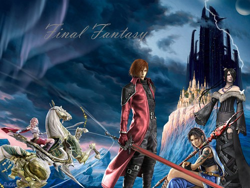 Square Enix, Final Fantasy X, Final Fantasy VII, Final Fantasy XIII, Final Fantasy VII: Crisis Core Wallpaper