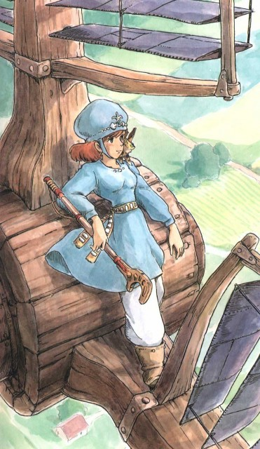 Studio Ghibli, Nausicaa of the Valley of the Wind, Nausicaa, Teto (Nausicaa)