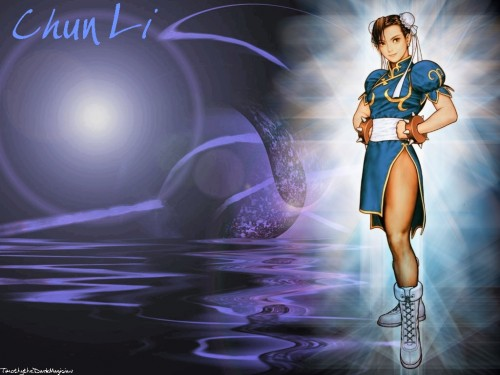 Capcom, Street Fighter, Chun-Li Wallpaper