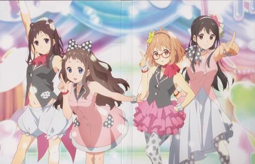 Kyoto Animation, Kyoukai no Kanata, Sakura Inami, Mitsuki Nase, Mirai Kuriyama