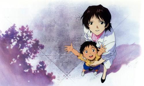Yoshiyuki Sadamoto, Neon Genesis Evangelion, Yui Ikari, Shinji Ikari