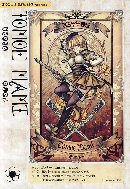 HINA, Puella Magi Madoka Magica, Witch/stay night, Mami Tomoe, Doujinshi