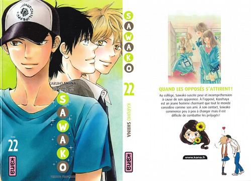 Karuho Shiina, Kimi ni Todoke, Shouta Kazehaya, Ryuu Sanada, Manga Cover