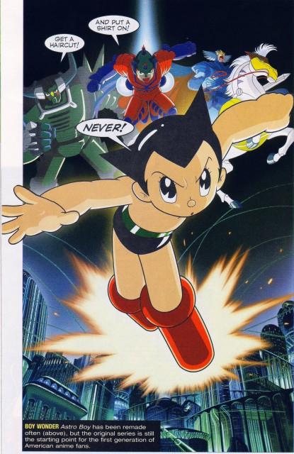 Osamu Tezuka, Tezuka Productions, Astro Boy, Astro, Atlas (Astro Boy)