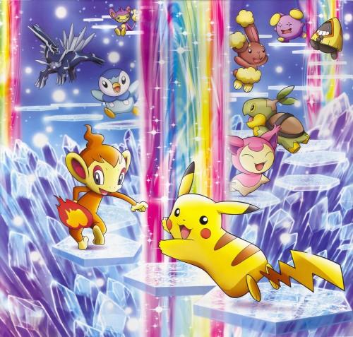 OLM Digital Inc, Nintendo, Pokémon, Buneary, Pikachu