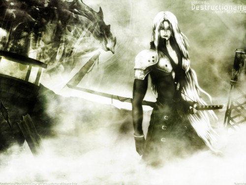 Square Enix, Final Fantasy VII: Advent Children, Sephiroth Wallpaper