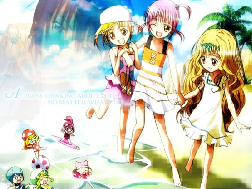 Peach-Pit, Satelight, Shugo Chara, Miki, Ran (Shugo Chara) Wallpaper
