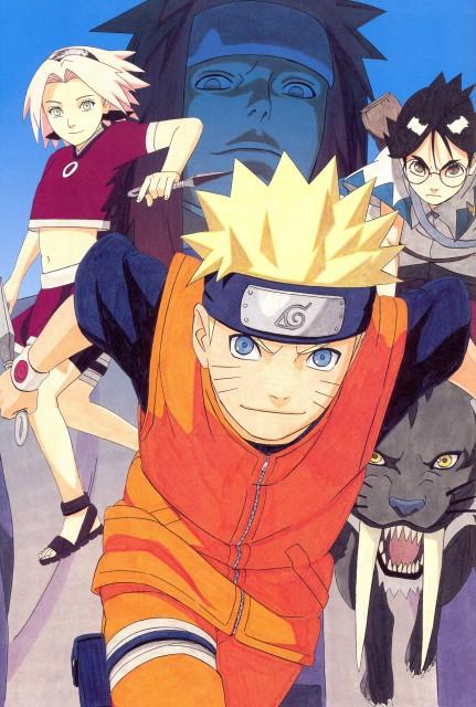 Masashi Kishimoto, Naruto, NARUTO Illustrations, Sakura Haruno, Ishidate