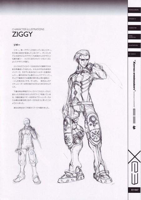 Xeno Emission E3, Xenosaga, Ziggy, Character Sheet