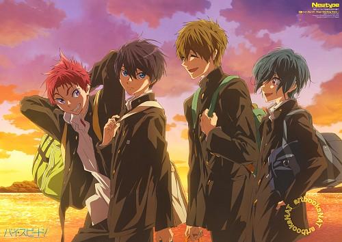 Futoshi Nishiya, Kyoto Animation, Free!, Haruka Nanase (Free!), Asahi Shiina