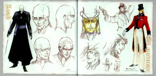 Ayami Kojima, Castlevania, Zead, Saint Germain, Character Sheet