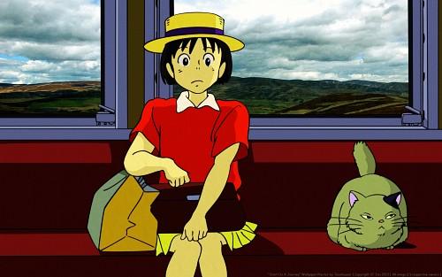Studio Ghibli, Whisper of the Heart, Shizuku Tsukishima, Vector Art Wallpaper