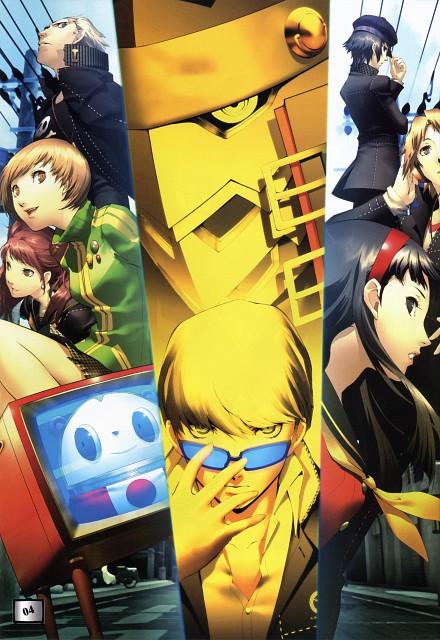 Shigenori Soejima, Atlus, Soejima Shigenori Artworks 2004-2010, Shin Megami Tensei: Persona 4, Naoto Shirogane