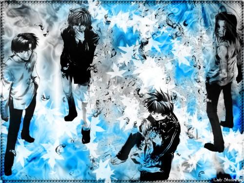 Kazuya Minekura, Studio Pierrot, Saiyuki, Genjyo Sanzo, Cho Hakkai Wallpaper