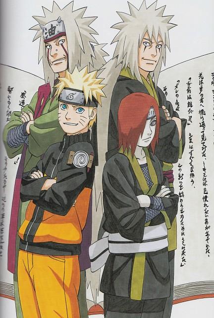 Masashi Kishimoto, Naruto, NARUTO Illustrations, Naruto Uzumaki, Nagato