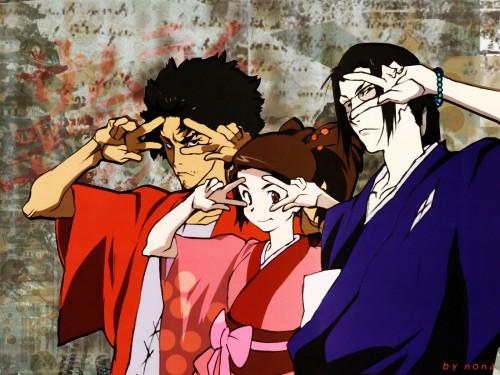 Samurai Champloo, Mugen, Jin, Fuu Wallpaper