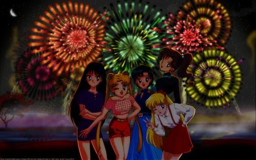 Toei Animation, Bishoujo Senshi Sailor Moon, Ami Mizuno, Makoto Kino, Rei Hino Wallpaper