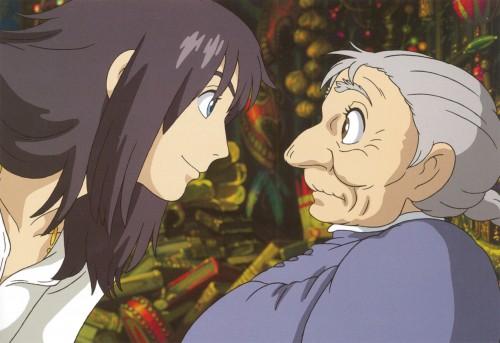 Studio Ghibli, Howl's Moving Castle, Old Sophie, Howl Jenkins