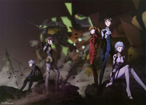 Yoshiyuki Sadamoto, Takeshi Honda, Khara, Neon Genesis Evangelion, Rei Ayanami